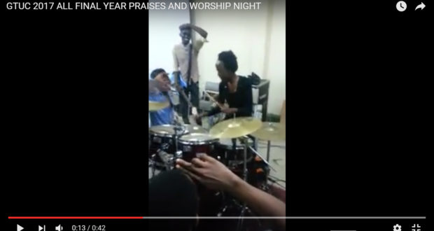 LIVE VIDEO ON GTUC LEAVERS NIGHT OF PRAISE & THANKSGIVING