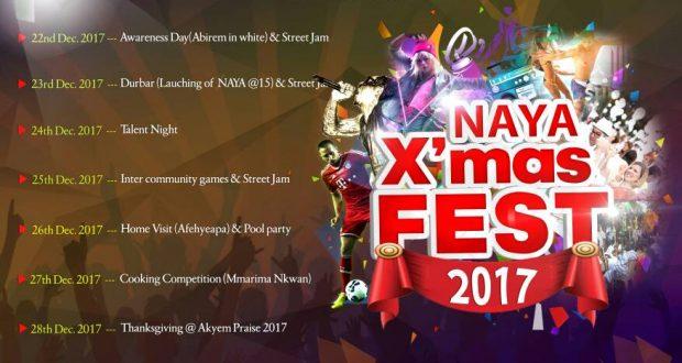 NAYA X'mas Festival (Prod. By Code View Technologies)(www.GhanaMix.com)