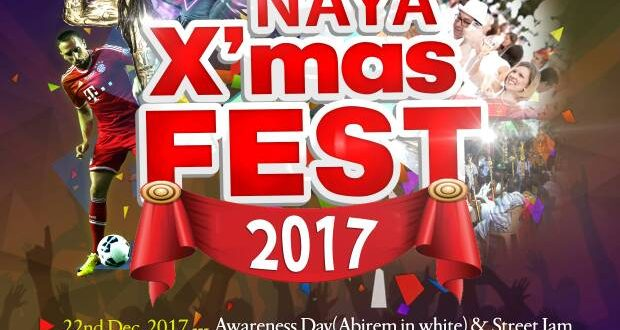 New Abirem Youth Association Presents NAYA X'mas FEST 2017