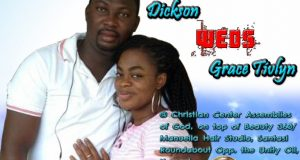 Dickson Weds Grace Tivlyn