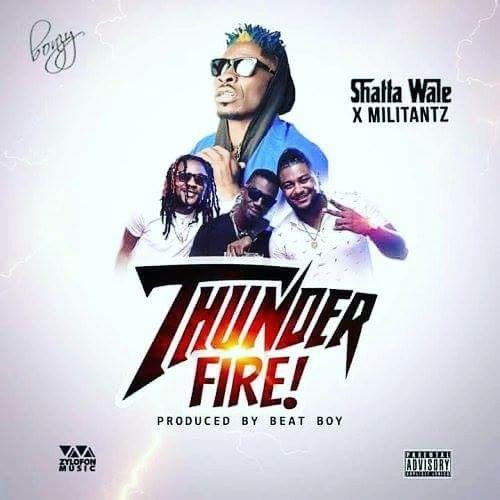 Shatta Wale x Militants – Thunder Fire (Prod. by Beat Boy)(www.GhanaMix.com)